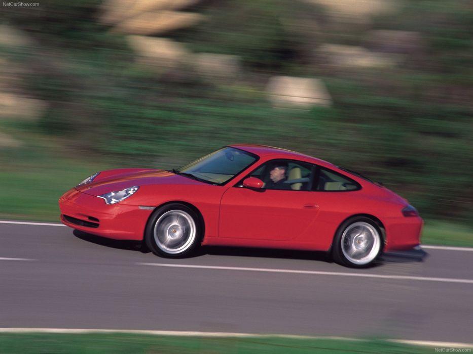 Porsche 911 Carrera cars coupe 2002 wallpaper