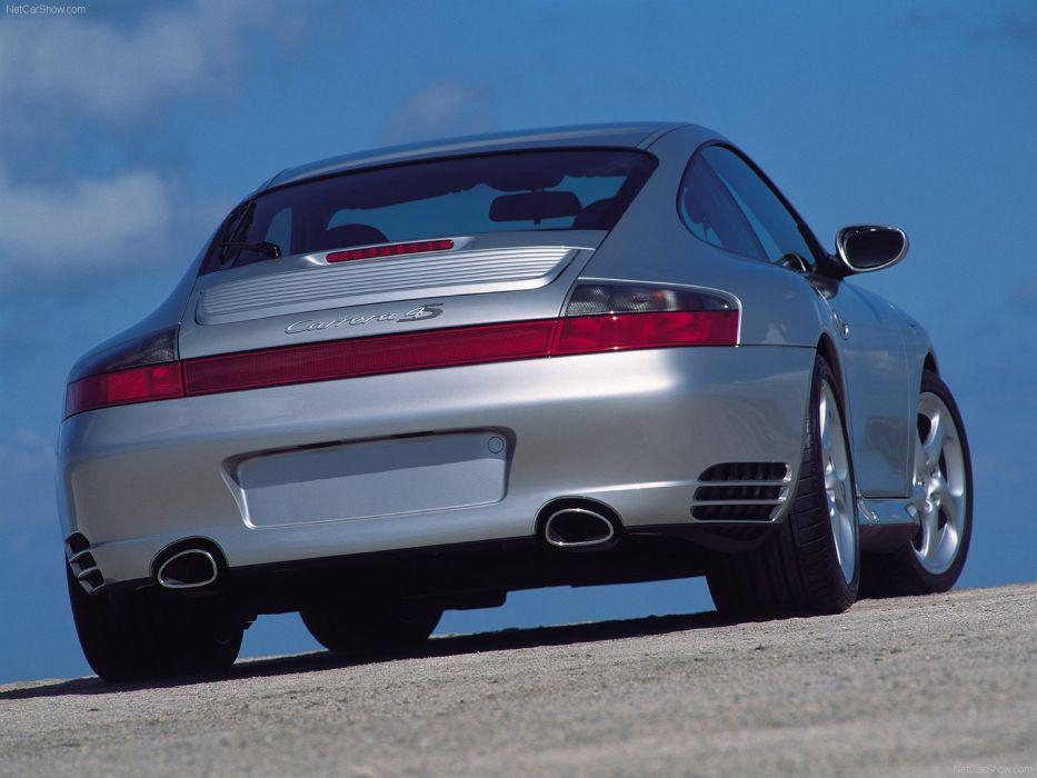 Porsche 911 Carrera 4S cars coupe 2002 wallpaper