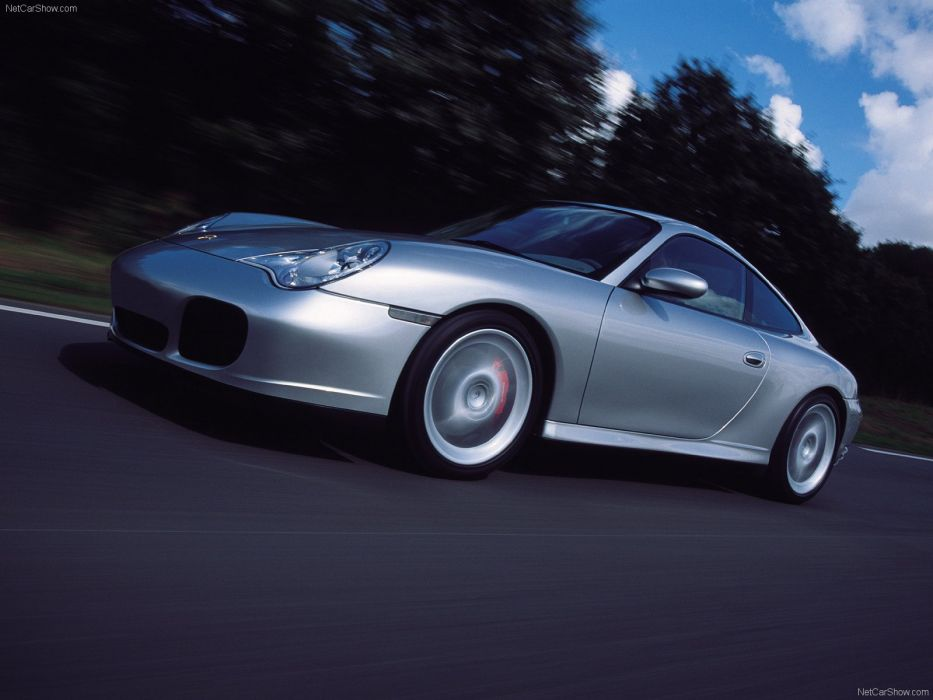Porsche 911 Carrera 4S cars coupe 2002 wallpaper