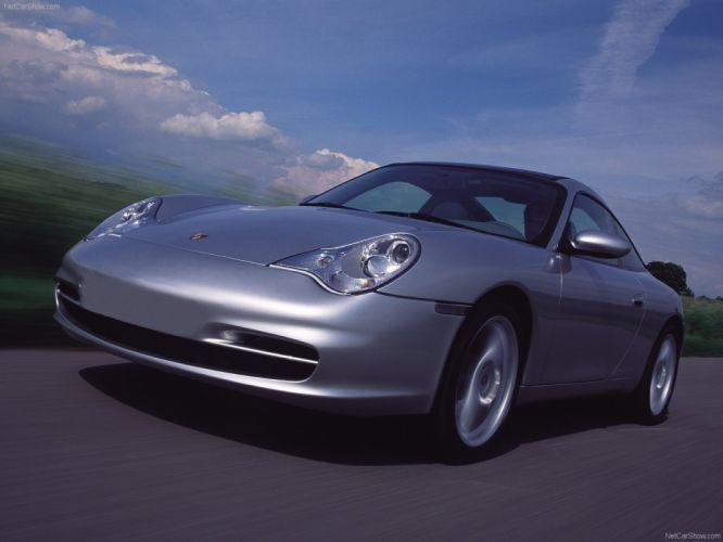 Porsche 911 Targa coupe cars 2002 wallpaper