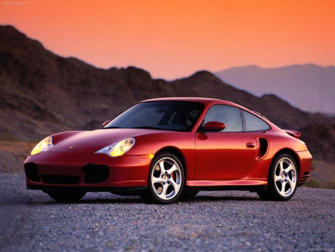 Porsche 911 Turbo cars coupe 2002 wallpaper