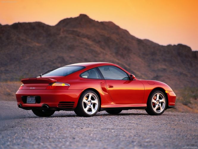 Porsche 911 Turbo cars coupe 2002 wallpaper