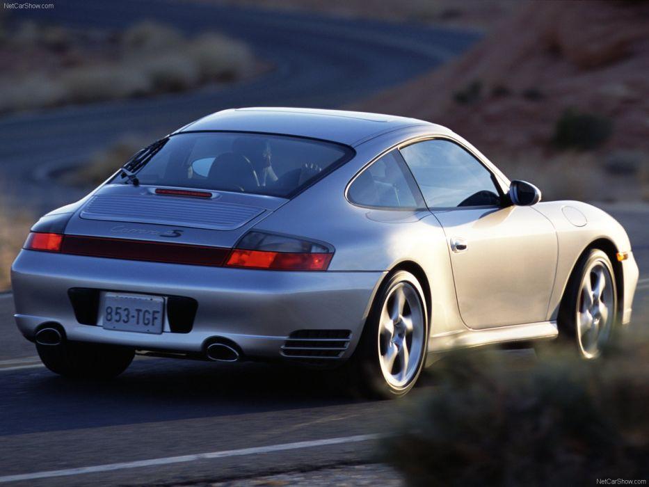 Porsche 911 Carrera 4s coupe cars 2003 wallpaper