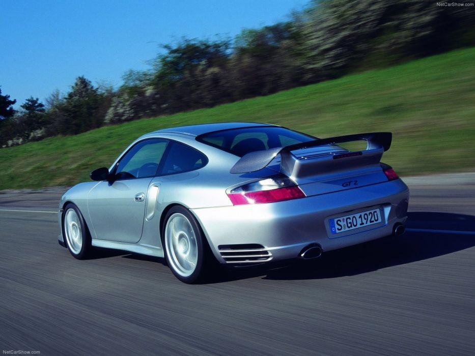 Porsche 911 GT2 cars coupe 2003 wallpaper