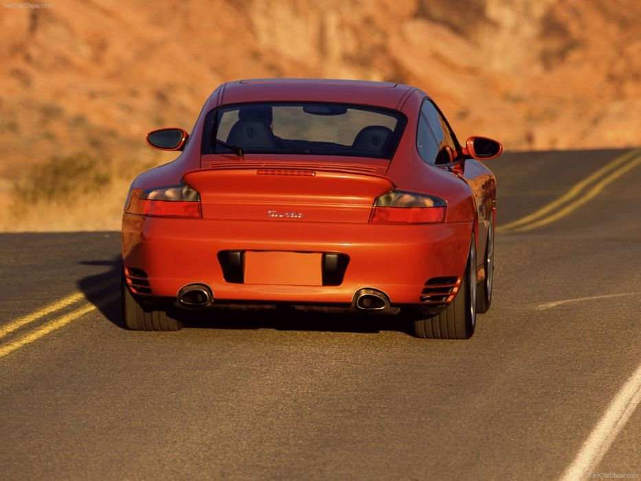 Porsche 911 Turbo coupe cars 2003 wallpaper