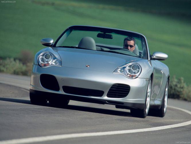 Porsche 911 Carrera 4S Cabriolet convertible cars 2004 wallpaper