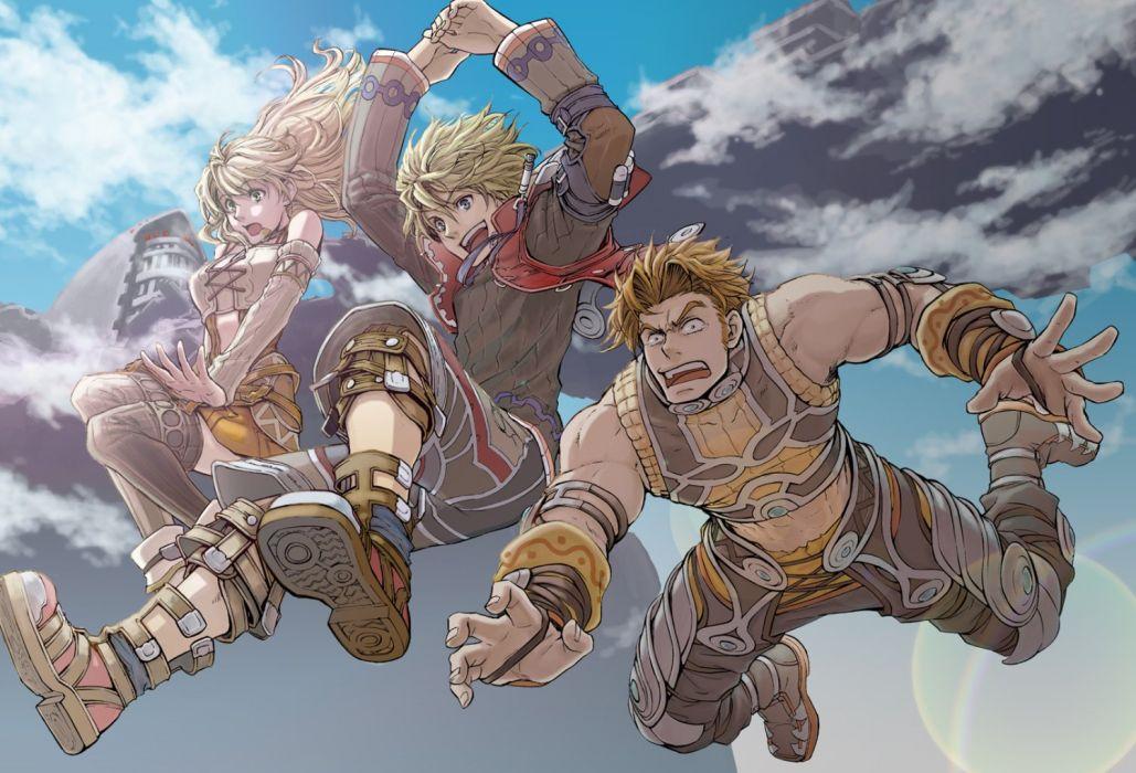 XENOBLADE Chronicles zenobureido sci-fi rpg fantasy 1xeno action adventure fighting exploration anime warrior wallpaper