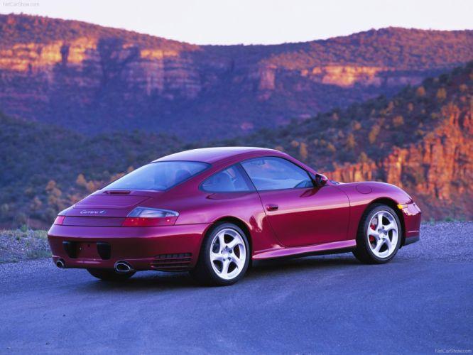 Porsche 911 Carrera 4S Coupe cars 2004 wallpaper