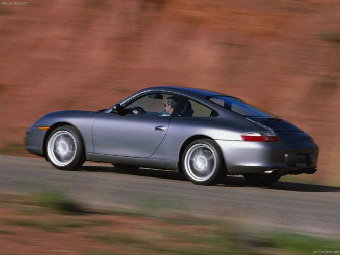 Porsche 911 Carrera Coupe cars 2004 wallpaper