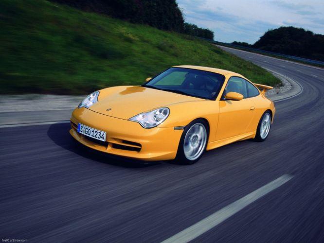 Porsche 911 GT3 coupe cars 2004 wallpaper