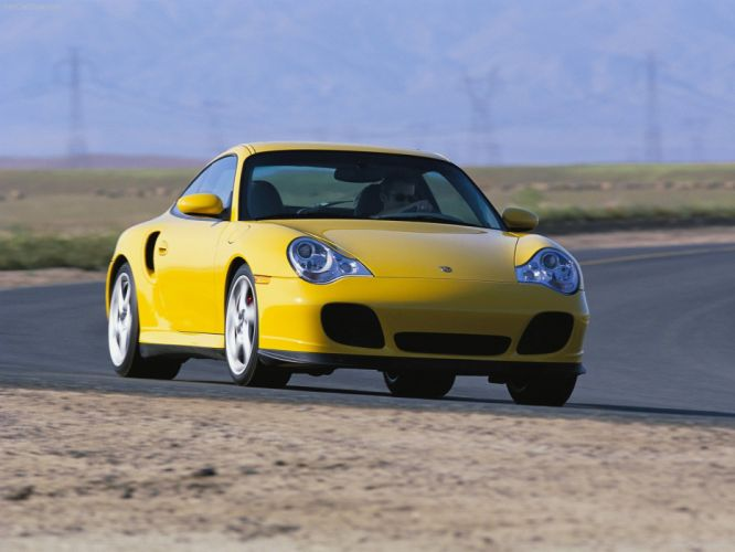 Porsche 911 Turbo coupe cars 2004 wallpaper
