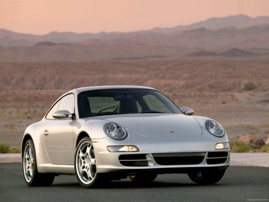 Porsche 911 Carrera coupe cars 2005 wallpaper