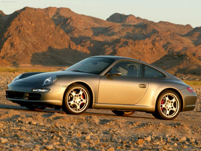 Porsche 911 Carrera S coupe cars 2005 wallpaper