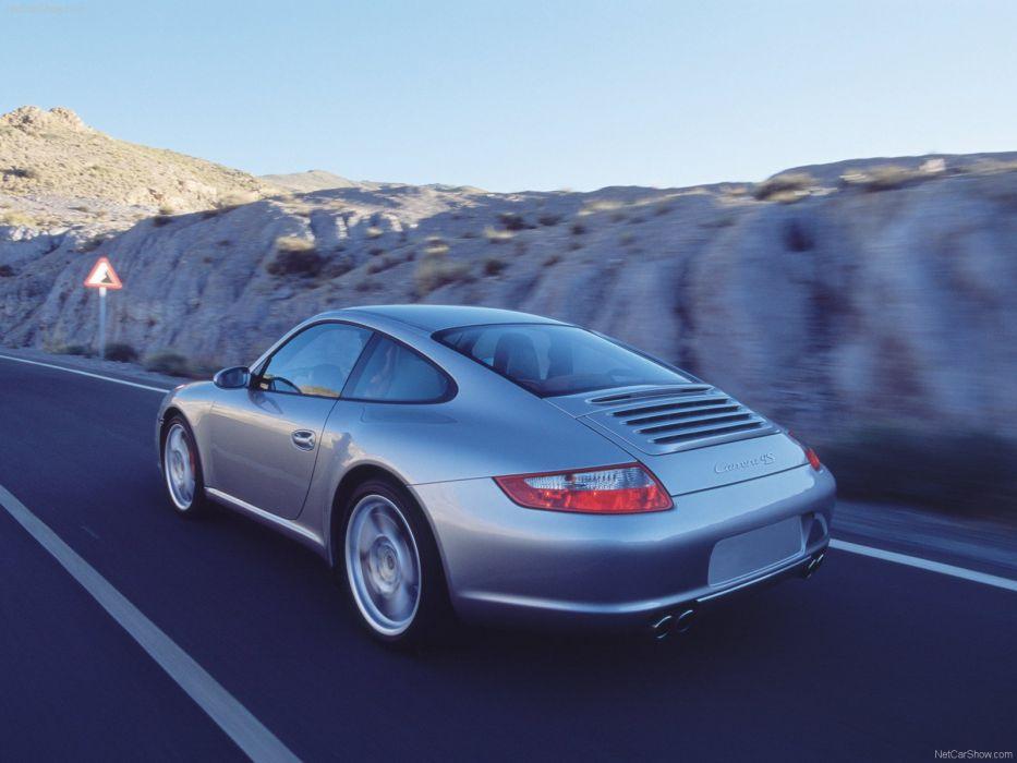 Porsche 911 Carrera 4S coupe cars 2006 wallpaper