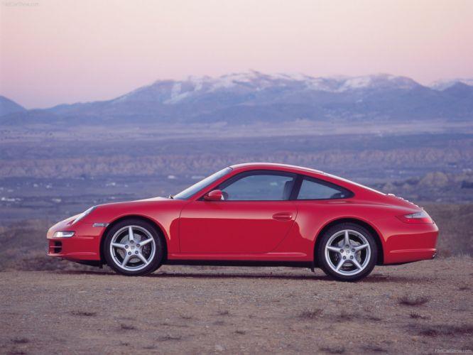 Porsche 911 Carrera 4 Coupe cars 2006 wallpaper