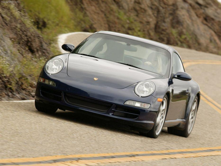 Porsche 911 Carrera S coupe cars 2006 wallpaper