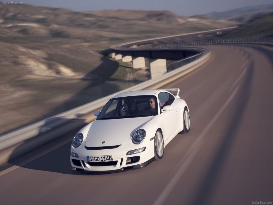Porsche 911 GT3 coupe cars 2007 wallpaper