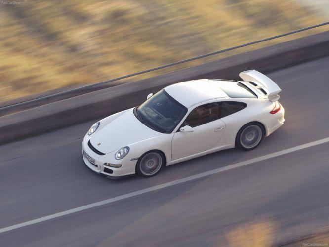 Porsche 911 GT3 coupe cars 2007 wallpaper