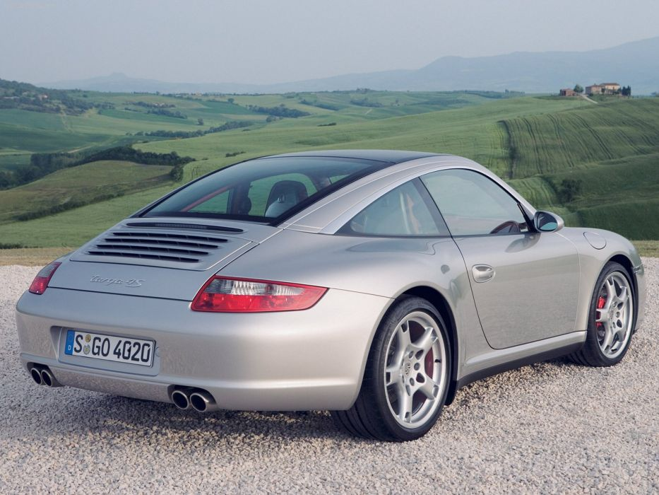 Porsche 911 Targa 4s coupe cars 2007 wallpaper