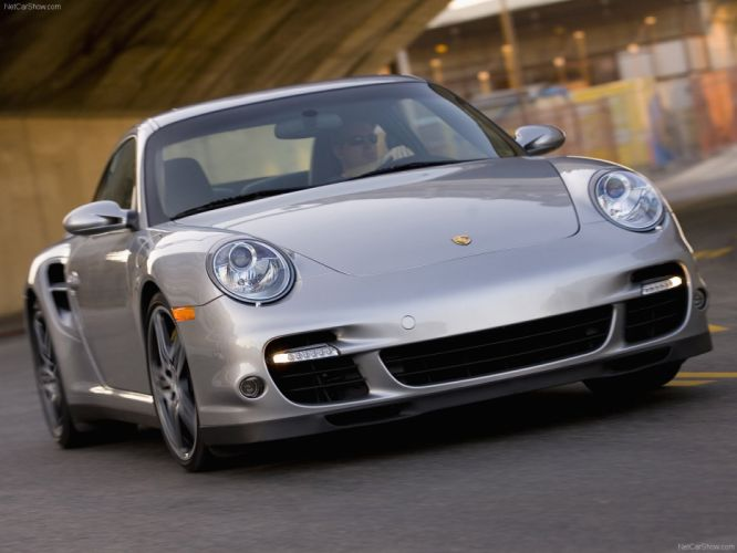 Porsche 911 Turbo coupe cars 2007 wallpaper