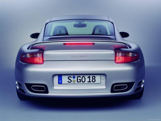 Porsche 911 Turbo coupe cars 2007 wallpaper