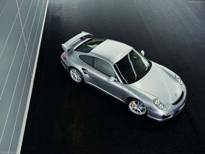 Porsche 911 GT2 coupe cars 2008 wallpaper