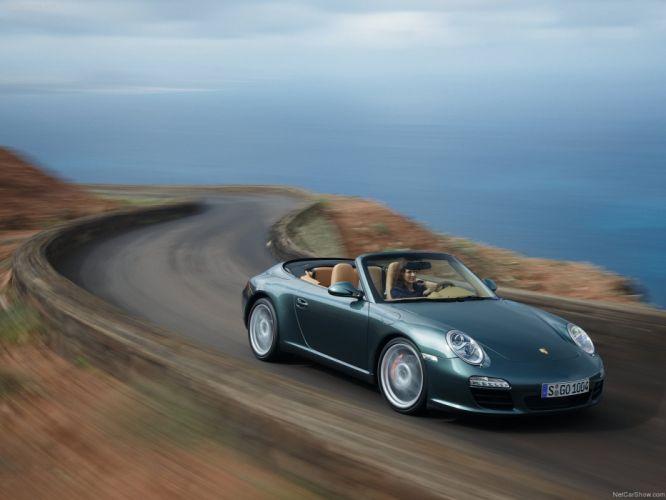 Porsche 911 Carrera S cabriolet convertible 2009 cars wallpaper