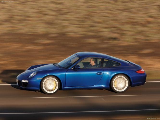 Porsche 911 Carrera S coupe 2009 cars wallpaper