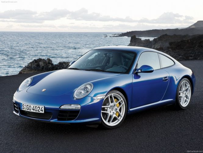 Porsche 911 Carrera S coupe 2009 cars wallpaper