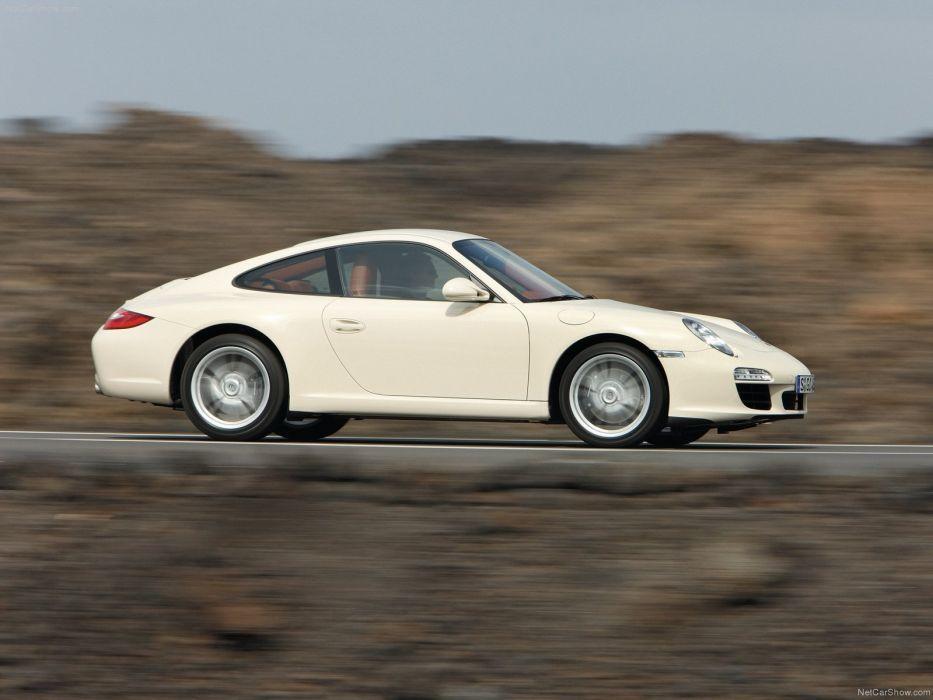 Porsche 911 Carrera coupe 2009 cars wallpaper