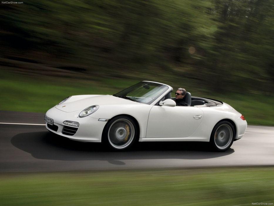 Porsche 911 Carrera 4S CABRIOLET convertible cars 2009 wallpaper