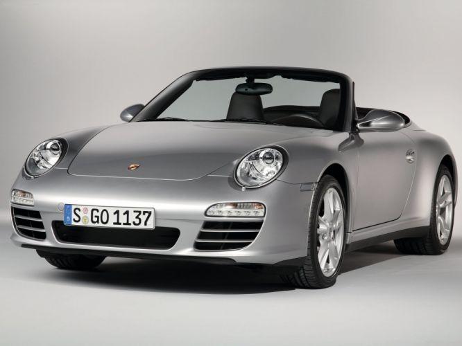 Porsche 911 Carrera 4 CABRIOLET convertible cars 2009 wallpaper