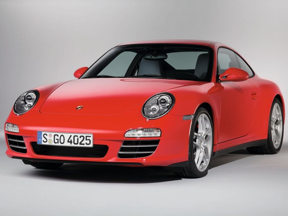Porsche 911 Carrera 4S coupe cars 2009 wallpaper