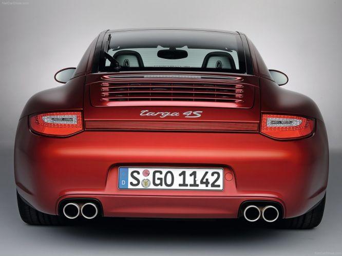 Porsche 911 Targa 4S cars coupe 2009 wallpaper
