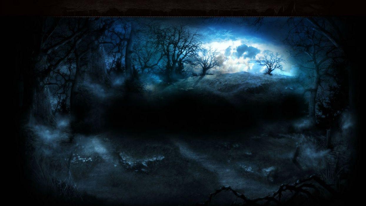 BITEFIGHT fantasy dark horror vampire werewolf monster online mmo evil action fighting 1bfight strategy halloween spooky moon wallpaper