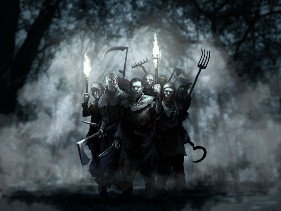 BITEFIGHT fantasy dark horror vampire werewolf monster online mmo evil action fighting 1bfight strategy halloween spooky wallpaper
