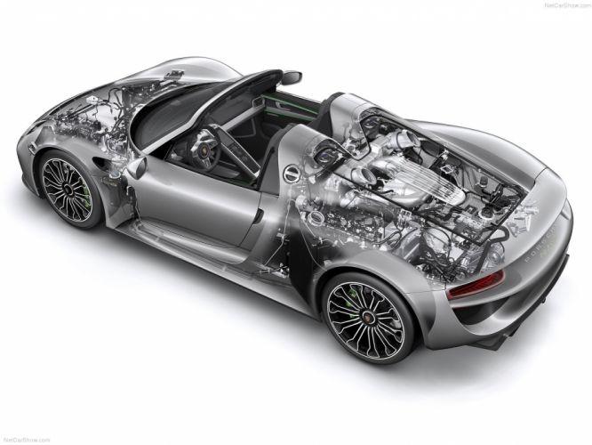 Porsche 918 Spyder cars supercars technical wallpaper