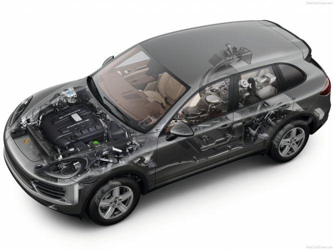 Porsche Cayenne S Diesel suv cars 2013 technical wallpaper