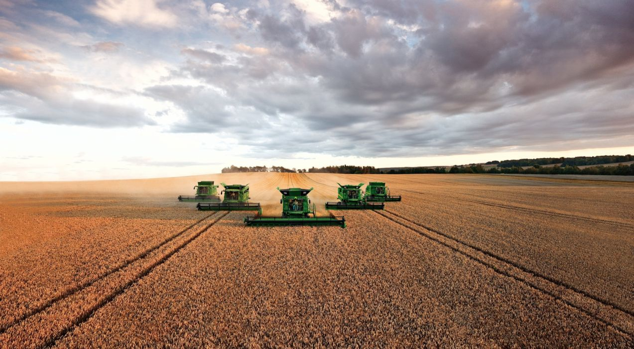 JOHN DEERE Tractor Farm Industrial Farming 1jdeere