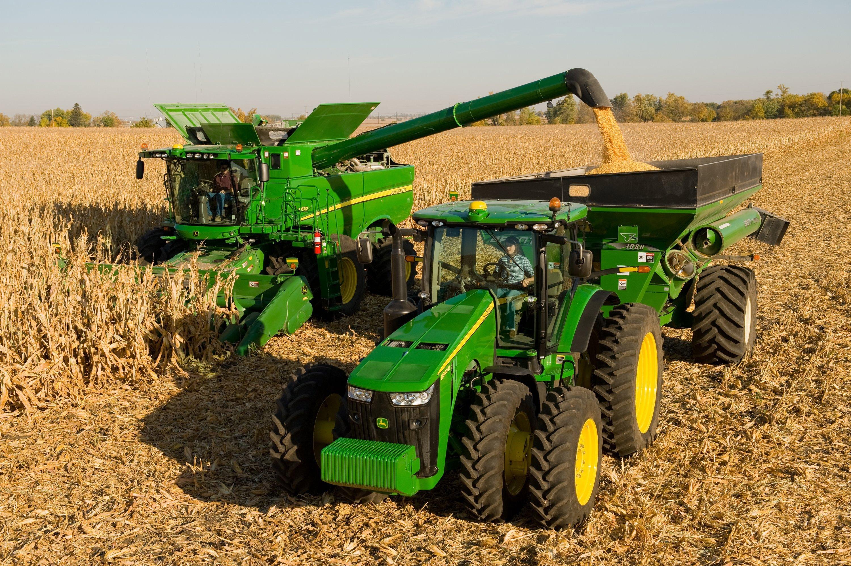 JOHN DEERE tractor farm industrial farming 1jdeere ...