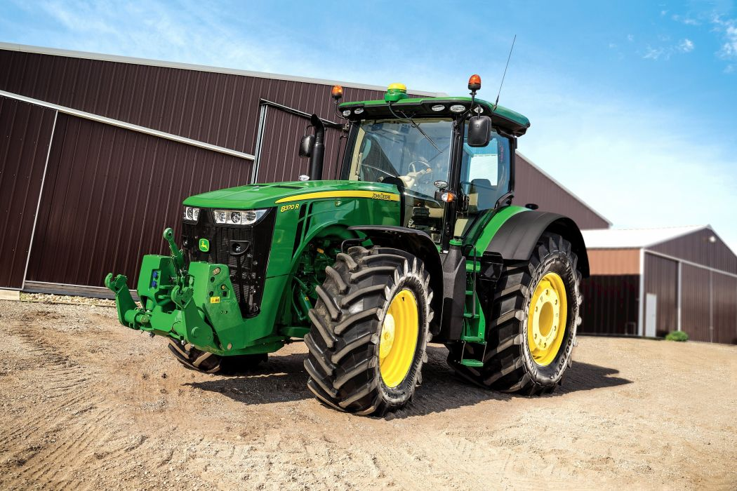 JOHN DEERE tractor farm industrial farming 1jdeere construction wallpaper