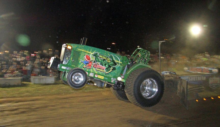 TRACTOR-PULLING race racing hot rod rods tractor john deere wallpaper