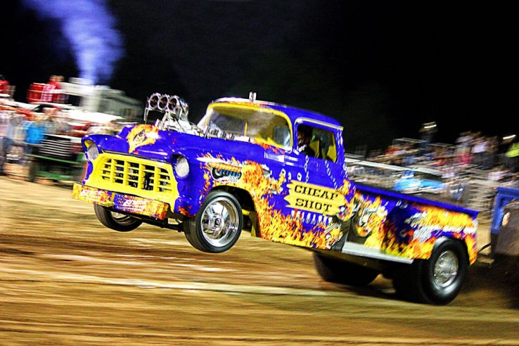 TRACTOR-PULLING race racing hot rod rods tractor pickup wallpaper