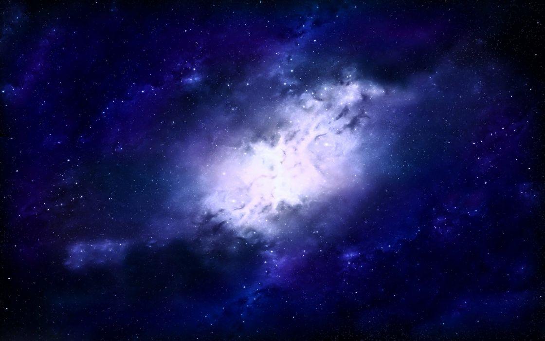 colors galaxy Glow nebula Pink planets sky space stars ufo universe blue wallpaper