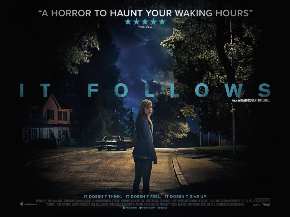 IT FOLLOWS horror supernatural dark 1foll ghost itfollows poster wallpaper