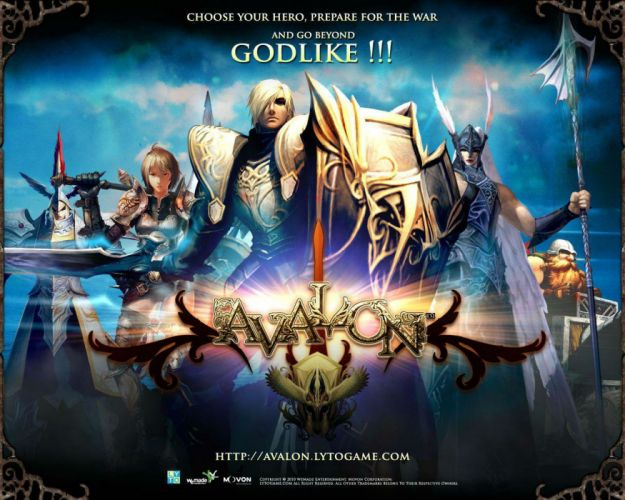 AVALON HEROES online asian martial kung action fighting 1avalon mmo battle arena tactical strategy warrior poster wallpaper