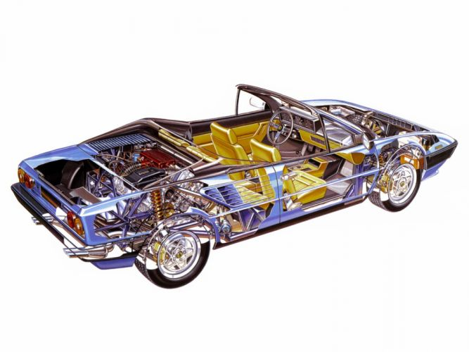 ferrari mondial cabriolet cars technical wallpaper