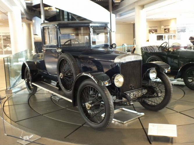1922 cars Daimler TT retro old wallpaper