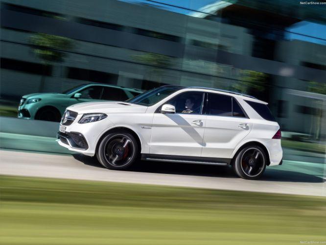2015 cars Germany GLE 63-AMG AMG Mercedes suv wallpaper