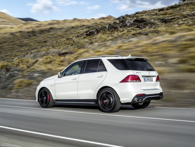 2015 cars Germany GLE 63-AMG AMG Mercedes suv wallpaper